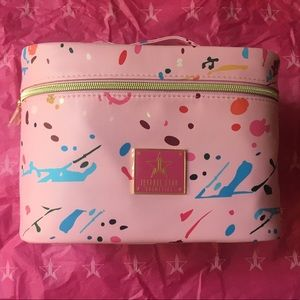 Jeffree Star Jawbreaker Pink Makeup Bag Case NEW!